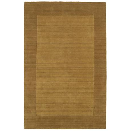 Kaleen Regency 7000-28 Yellow Wool Area Rug
