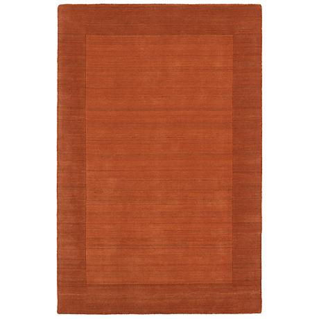 Kaleen Regency 7000-31 Pumpkin Wool Area Rug
