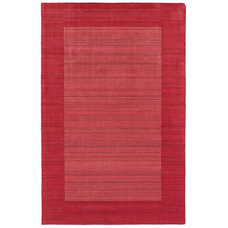 Kaleen Regency 7000-36 Watermelon Wool Area Rug