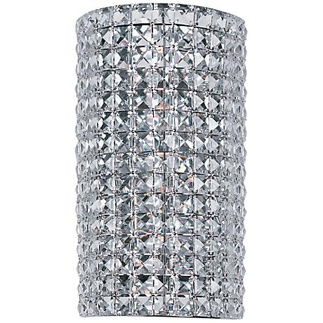 "Maxim Vision 14"" High Polished Chrome Sconce"