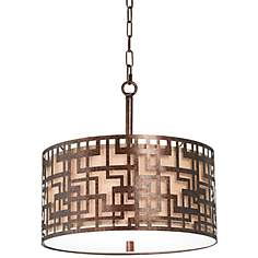 "Bramble 17 1/2"" Wide Bronze Pendant Light"