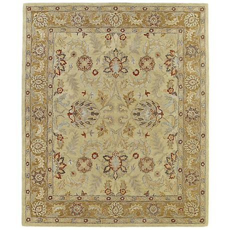 Kaleen Solomon 4053-05 Joab Gold Wool Area Rug