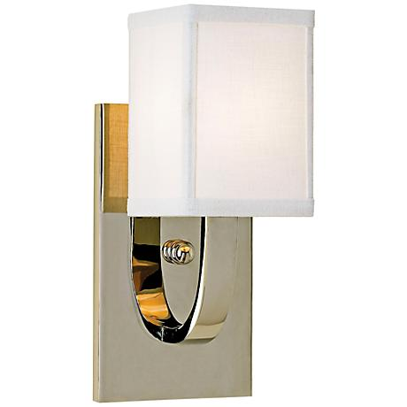 Holtkoetter Cleo LED Chrome Left Swing Arm Wall Lamp 4N798