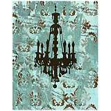 "Vintage Chandelier II 28"" High Giclee Canvas Wall Art"