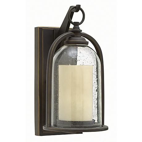 "Hinkley Quincy 13 1/2"" High Bronze Outdoor Wall Light"