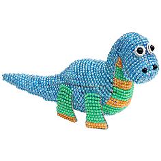 Beadworx Dinosaur Hand-Crafted Beaded Night Light
