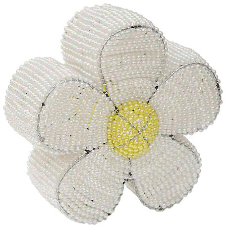 Beadworx Daisy Hand-Crafted Beaded Night Light