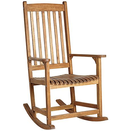 Benson Natural Outdoor Rocking Armchair
