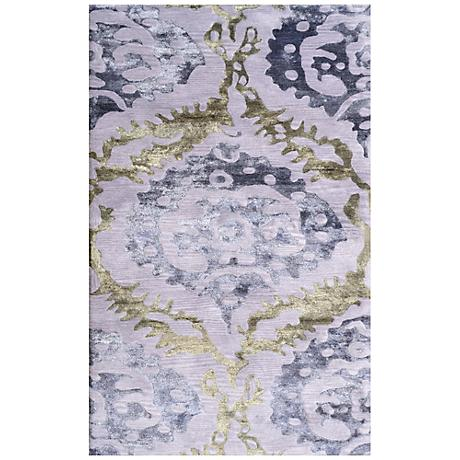 Maison Sullivan Purple 44443 Purple Wool Area Rug