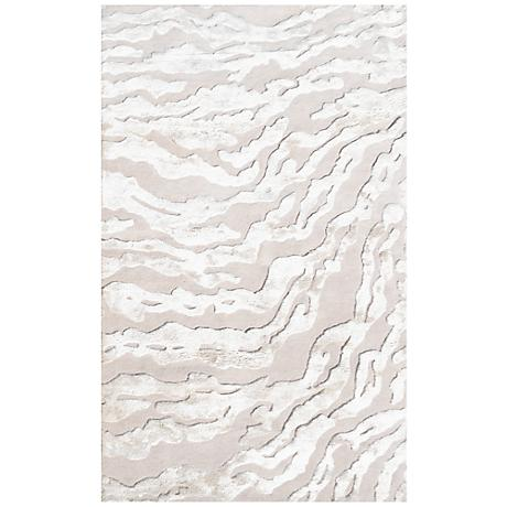 Maison Kiawah Cream 44446 Wool Area Rug
