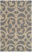Maison Bellagio 44471 5'x8' Silver And Bronze Wool Rug