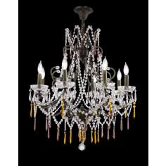 James R. Moder Eight Light Isabella Collection Chandelier