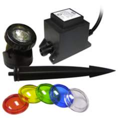 Power Beam Underwater Halogen Pond Light Kit
