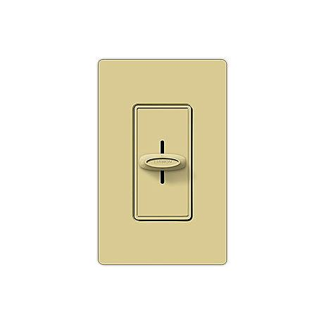 Lutron Skylark 600W Single Pole Slide Ivory Dimmer