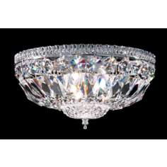 James R. Moder Empire Collection Silver Ceiling Fixture