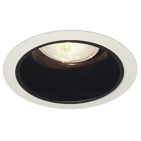 juno 5 line voltage black alzak recessed light trim. Black Bedroom Furniture Sets. Home Design Ideas