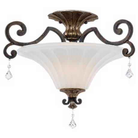 "Marquette Collection 20"" Wide Ceiling Light Fixture"
