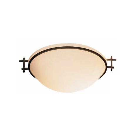 "Hubbardton Forge 12"" Wide Moonband Ceiling Light"