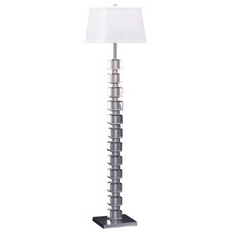 Lamp Works Crystal Floor Lamp