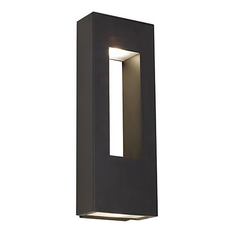 "Hinkley Atlantis Bronze 16"" High Dark Sky Outdoor Wall Light"