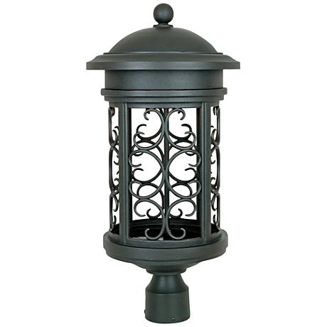"Ellington 23"" High Oil-Rubbed Bronze Outdoor Post Light"