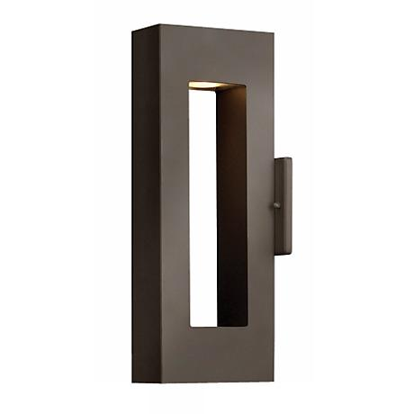 "Hinkley Atlantis Bronze 16"" High Dark Sky Outdoor Light"