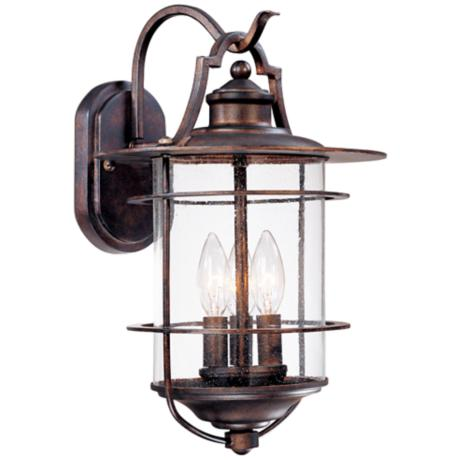 "Franklin Iron Works Casa Mirada 16 1/8"" High Outdoor Light"