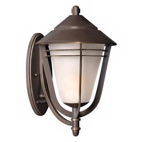 "Aurora Collection 21 1/2"" High Outdoor Wall Light"