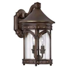 "Hinkley Lucerne Collection 15"" High Outdoor Wall Light"