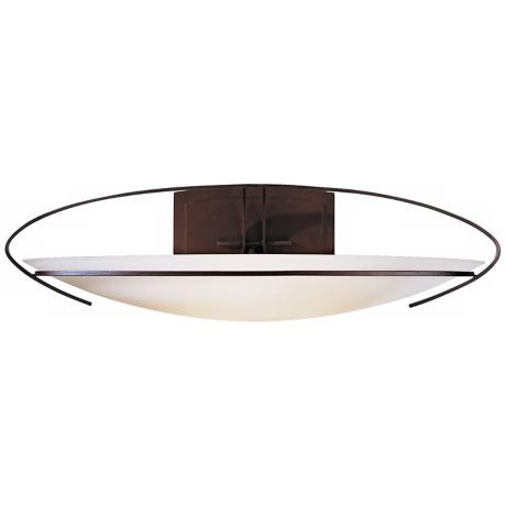 "Mackintosh Collection Opal Glass 24"" Wide Wall Sconce"