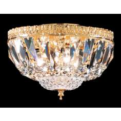 James R. Moder Empire Collection Gold Ceiling Fixture