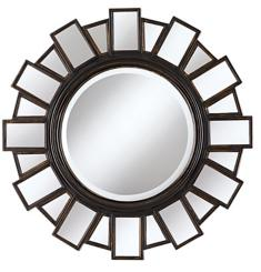 "Moonlight 35 1/2"" Wide Wall Mirror"