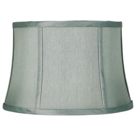 Spa Blue Lamp Shade 10x12x8 (Spider)
