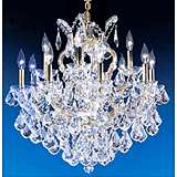 James R. Moder Maria Teresa Large Crystal Chandelier