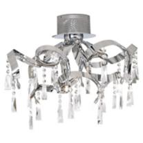 "Possini Euro Ribbon 25 1/4"" Wide Ceiling Light"