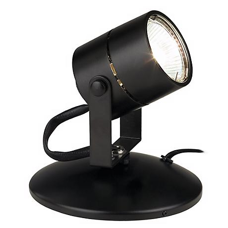 Lil Big Wonder Black 50 Watt MR16 Mini Spot Light