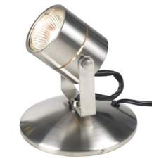 Lil Big Wonder Satin Nickel Accent Light
