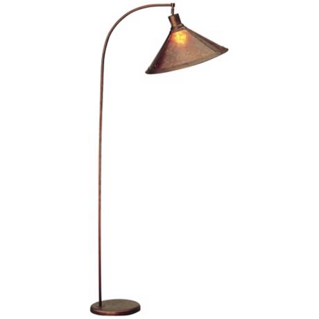 Mica Shade Arc Floor Lamp