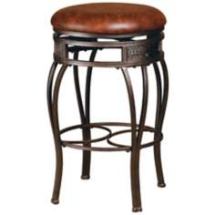 "Hillsdale Montello Swivel 26 1/2"" High Counter Stool"