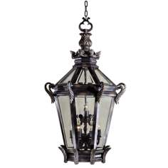 "Stratford Hall 46 1/2"" High Outdoor Hanging Fixture"