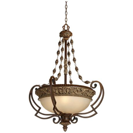 Belcaro Collection Four Light Pendant Chandelier