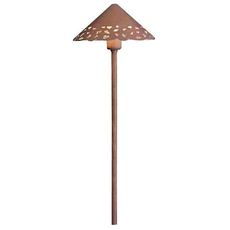 Kichler Olde Brick Hammered Roof Landscape Light