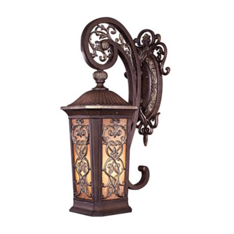 "Jessica McClintock25"" High Bronze Outdoor Light"