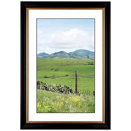 "Green Vistas Giclee 41 3/8"" High Wall Art"