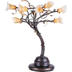 ET2 Eight Light Branch Desk Lamp