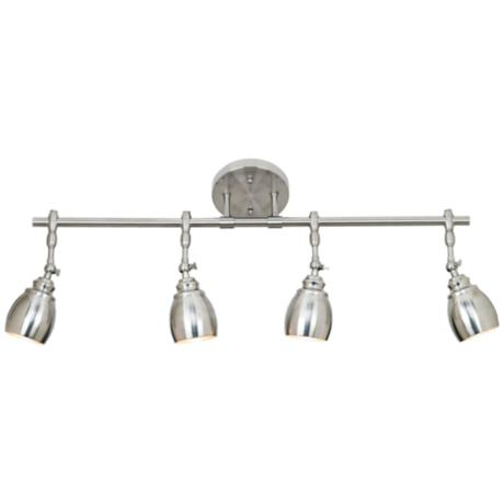Pro Track® Elm Park Collection Brushed Steel 4-Light Fixture
