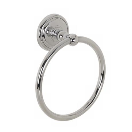 Diana Collection Polished Chrome Finish Towel Ring
