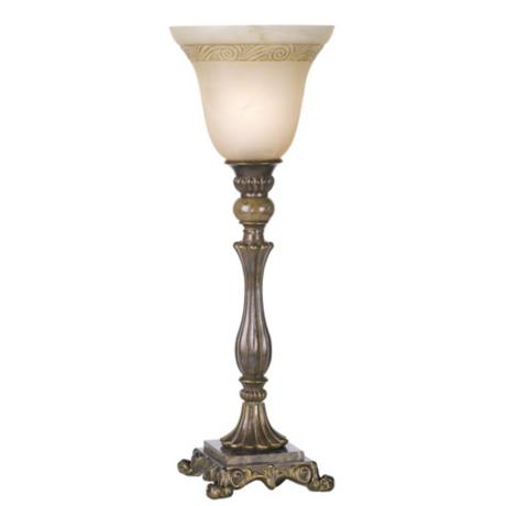 Kathy Ireland Buckingham Uplight Table Torchiere