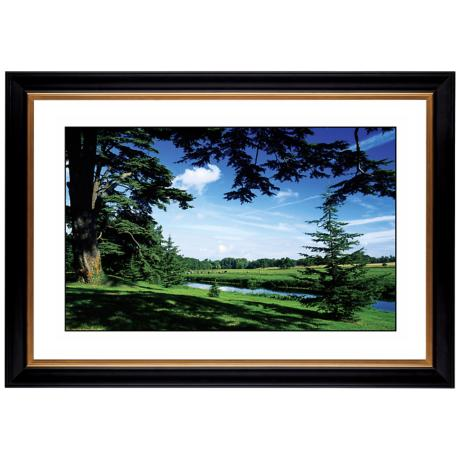 "Blue Vista Giclee 41 3/8"" Wide Wall Art"