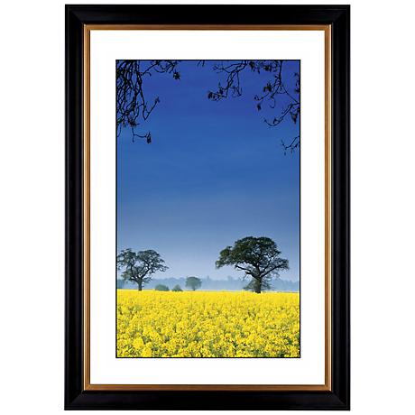 "Field of Yellow Giclee 41 3/8"" High Wall Art"